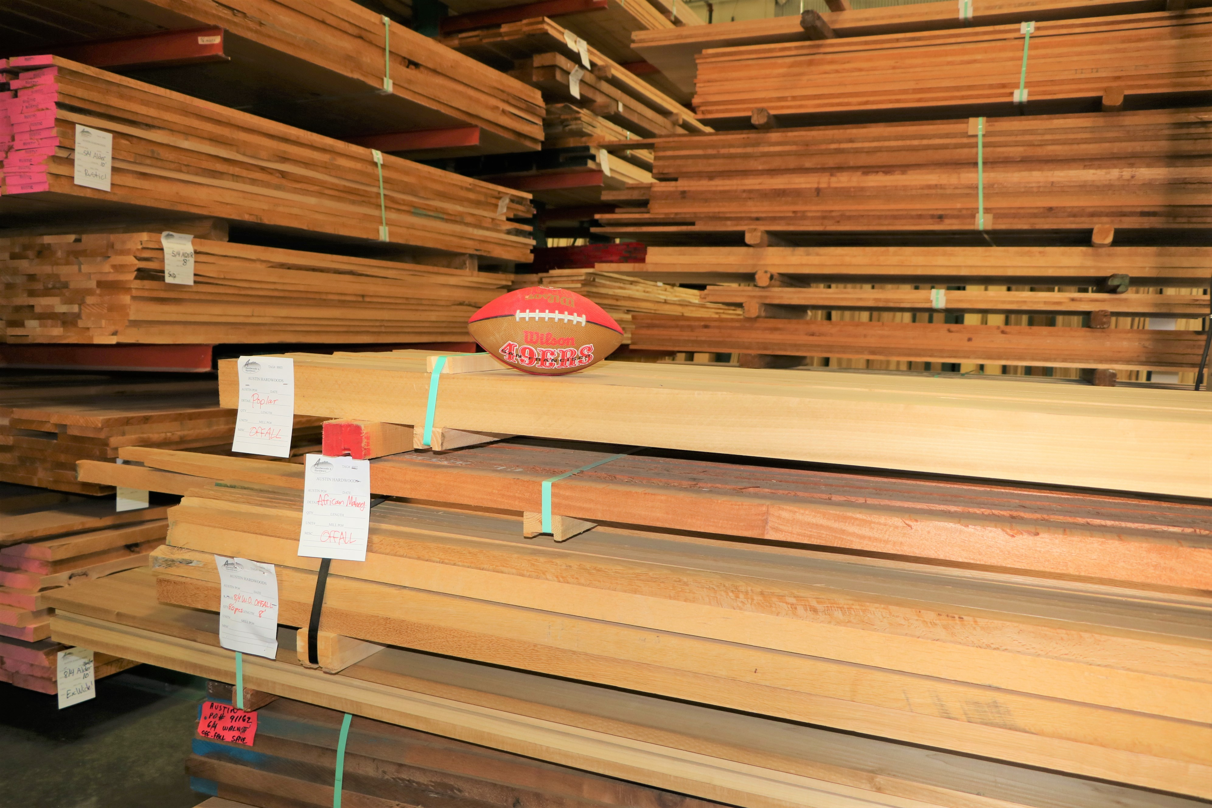 Lumber and Football